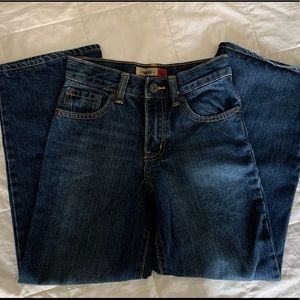 Old Navy 8 Slim Boys Painters Blue Jeans